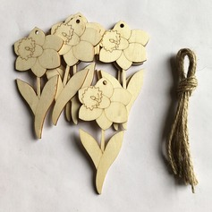 Simple/Beautiful Nice/Lovely Wooden Wedding Ornaments