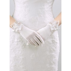 Nylon Wrist Length Bridal Gloves (014118028)