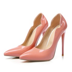 Women's Patent Leather Stiletto Heel Pumps With Others shoes