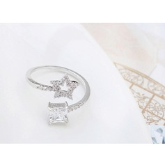 Fashional Zircon Ladies' Fashion Rings