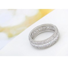 Gorgeous Alloy Zircon Copper Ladies' Fashion Rings