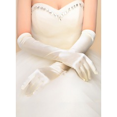 Nylon Opera Length Bridal Gloves (014118015)
