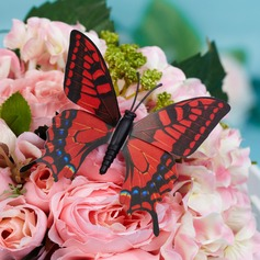 Colorful Plastic Butterfly Decorative Accessories
