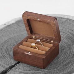 Bride Gifts - Attractive Delicate Wooden Ring Holder