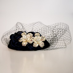 Ladies' Beautiful Net Yarn/Alloy Fascinators/Tea Party Hats