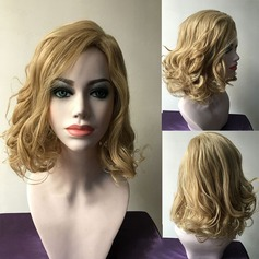 Wavy Synthetic Hair Capless Wigs 240g