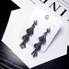 Shining Alloy Ladies' Fashion Earrings