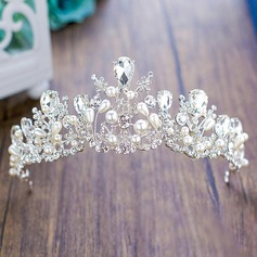 Ladies Glamourous Crystal/Rhinestone/Imitation Pearls Tiaras