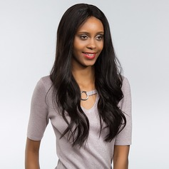 4A Non remy Straight Human Hair Full Lace Cap Wigs 170g