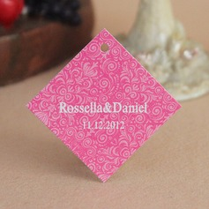 Personalized Floral Design Hard Card Paper