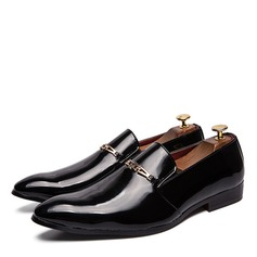 Men's Patent Leather Penny Loafer Casual Dress Shoes Men's Loafers