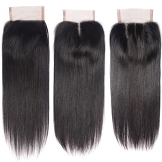 4A Non remy Straight Human Hair Closure (Sold in a single piece) 35g