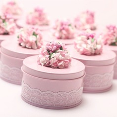 Sweet Love/Lovely Other Tins Candy Jars and Bottles With Flowers