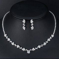 Alloy/Rhinestones Ladies' Jewelry Sets (011151343)