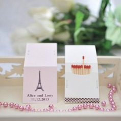 Personalized Eiffel Tower Design Hard Card Paper