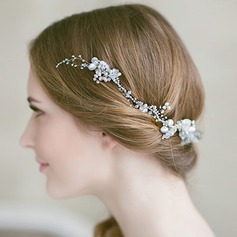 Ladies Special Alloy Headbands With Venetian Pearl (Sold in single piece)