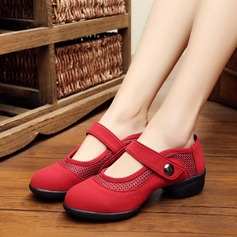 Women's Leatherette Sneakers Modern Practice Dance Shoes
