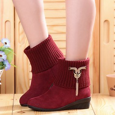 Women's Real Leather Boots Dance Boots Dance Shoes