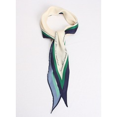 Country Style Neck/simple/fresh Silk Scarf