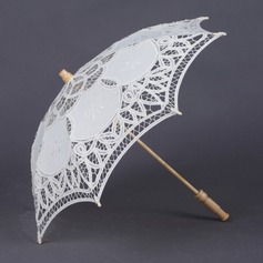 Dreamlike Cotton Wedding Umbrellas (124041499)
