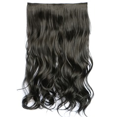 Synthetic Hair Clip in Hair Extensions (Sold in a single piece) 130g