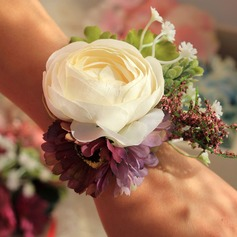 Lovely Ribbon Wrist Corsage -