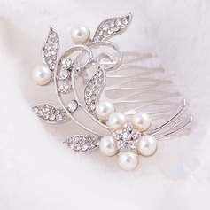 Elegant Imitation Pearls Combs & Barrettes
