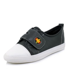 Women's Leatherette With Velcro Sneakers & Athletic