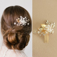 Glamourous Alloy/Imitation Pearls Combs & Barrettes (042117747)