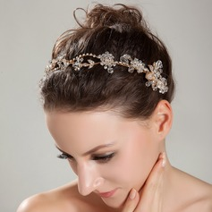 Fancy Rock Crystal Quartz Headbands