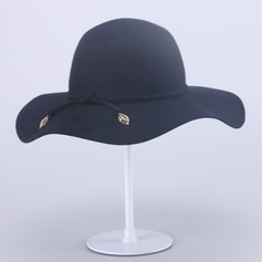 Ladies' Fashion Autumn/Winter Wool With Bowler/Cloche Hat