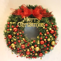 Christmas Wreath 2 Colors Pine Needles Diameter 50cm