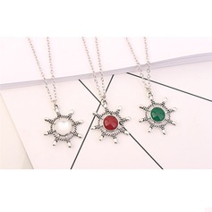 Shining Alloy Resin Ladies' Fashion Necklace