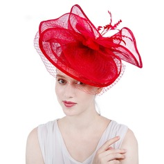 Ladies' Gorgeous/Fashion/Glamourous Cambric With Tulle Fascinators