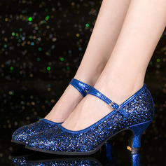 Women's Sparkling Glitter Character Shoes Dance Shoes
