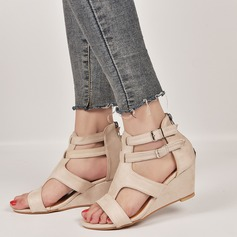 Women's Suede Wedge Heel shoes
