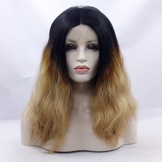 Wavy Synthetic Hair Lace Front Wigs 330g