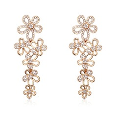 Ladies' Classic Austrian Crystal Earrings For Bride/For Bridesmaid/For Friends