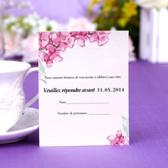 Personalized Floral Style Response Cards
