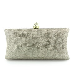 Tulle/Sparkling Glitter/Abrasive Cloth Clutches/Wristlets