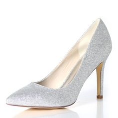 1c39710a0a3e Women s Sparkling Glitter Stiletto Heel Pumps New