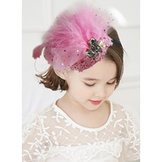 Feather With Imitation Pearls/Rhinestones/Feather Headbands
