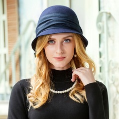 Ladies' Beautiful Wool With Bowknot Bowler/Cloche Hat