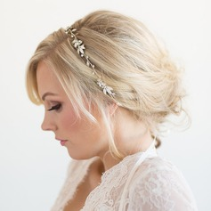 Ladies Unique Alloy Headbands With Rhinestone (Sold in single piece) (042153923)