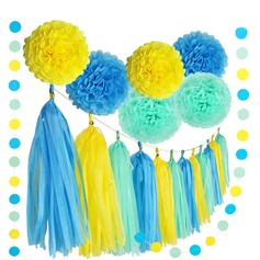 Ball Shaped Tissue Paper Paper Flower