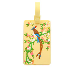 Lovely Birds Rubber Luggage Tags
