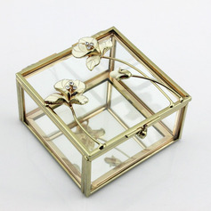 Bride Gifts - Attractive Fascinating Glass Alloy Jewelry Box