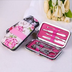 Elegant Stainless Steel Manicure Kit