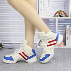 Unisex Real Leather Sneakers Dance Shoes