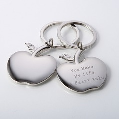 "Personalized ""Apple of My Eye"" Zinc Alloy"